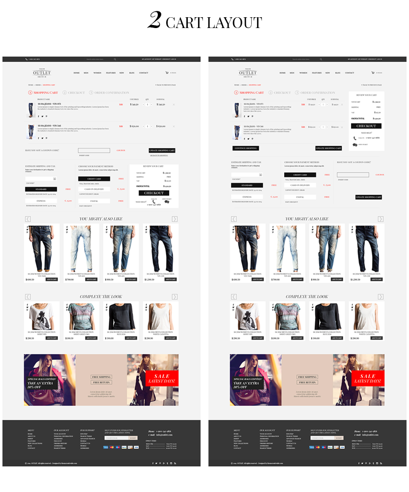 outlet template